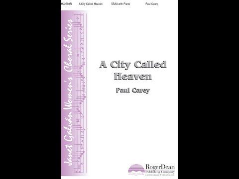 A City Called Heaven - Paul Carey