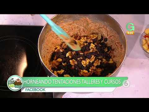 Receta de Cocina: Queque de zanahoria sin az�car