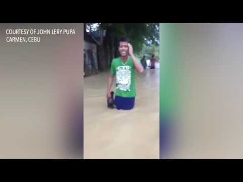 At least 7 dead in Cebu floods