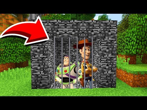 Minecraft : We TRAPPED TOY STORY! (Ps3/Xbox360/PS4/XboxOne/PE/MCPE)
