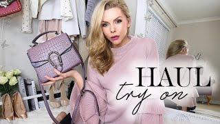 Haul and Try On // January 2017 // Zara, Asos, Tidebuy, Miss Pap