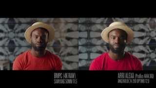 BMPC 4K vs ARRI ALEXA Test Video