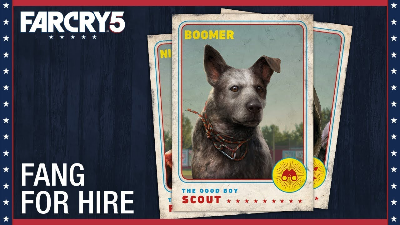 Far Cry 5: Boomer – Fang For Hire | Character Spotlight |