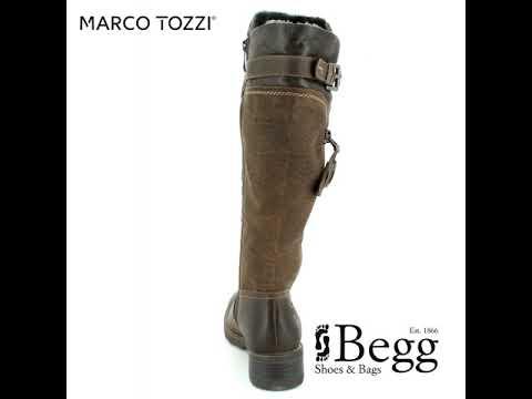 1bbd3d5708e Marco Tozzi Dussi 72 26639-358 Brown multi long boots