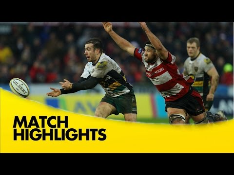 Gloucester Rugby V Northampton Saints - Aviva Premiership Rugby 2016-17
