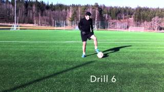 How to improve ball control and dribbling | soccer/football drills!