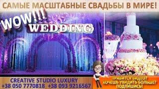 КРАСИВАЯ СВАДЬБА нежный сливовый цвет Wedding VIP LUXURY