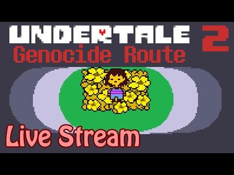 Undertale - Genocide Route [Finale - Part 2] (Live Stream)