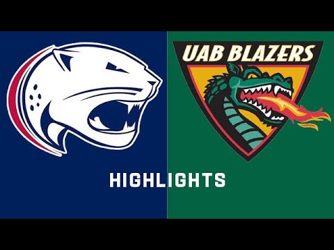 USA Vs. UAB | Conference USA Football Highlights