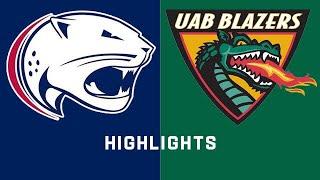 USA vs. UAB | Conference USA Football Highlights