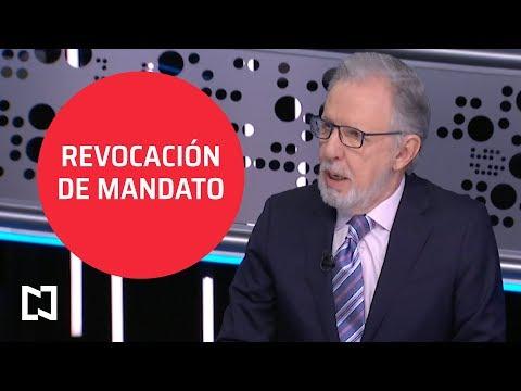 Revocación de mandato, ¿estrategia de AMLO? - Tercer Grado