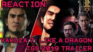 Yakuza 7: Like A Dragon Tokyo Game Show 2019 Story Trailer Reaction
