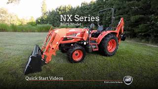 KIOTI NX Series (ROPS/Open Station) - Quick Start Video
