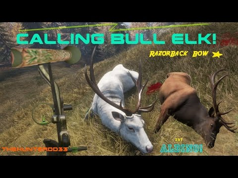 CALL OF THE WILD!!  *Calling Bull Elk*  THEHUNTER 2017