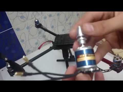 كيف تصنع طائرة رباعية بدون طيار Quadcopter Drone ؟ 4