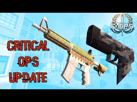 Get Critical Ops 4.0 Update! - New Knife, New Map Names, and More! Pics