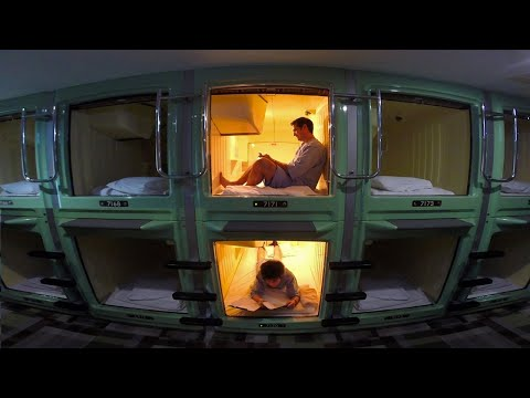 Tokyo Capsule Hotel Experience  ONLY in JAPAN