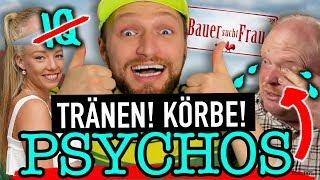 Bauer sucht Frau 2018 #2: TRÄNEN bei EKEL-Guy & Tennisprofi Tayisiya 🙈😂