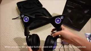 Axent Wear Cat Ear Headphones Unboxing (Purple)