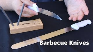 Barbecue Knives - Choosing, Sharpening and Taking Care of your BBQ Knives