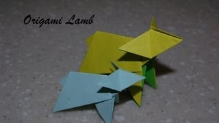 Origami Lamb  - How To Fold An Origami Lamb