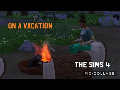 The Sims™ 4 - on a vacation - YouTube