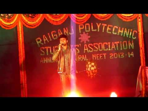 Tum Hi Ho on Karaoke|Stage Performence|College Fest|By Subrata Das