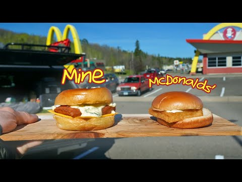 Cooking A Fillet-o-Fish In McDonald's Parking Lot