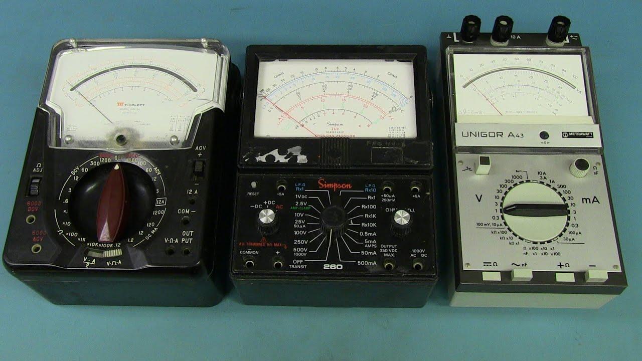 EEVblog #634 - Analog Multimeter Teardowns