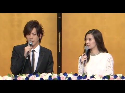 DAIGO&北川景子の結婚会見
