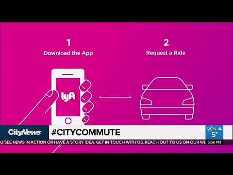 Ride-hailing company Lyft coming to Toronto