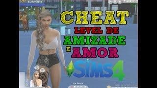 THE SIMS 4 CHEAT LEVEL DE AMOR E AMIZADE