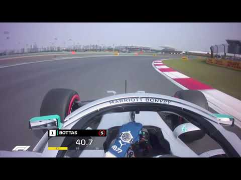 2019 Chinese Grand Prix: Valtteri Bottas' Pole Lap | Pirelli
