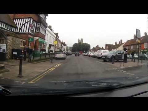 A Drive Through Marlborough in Wiltshire