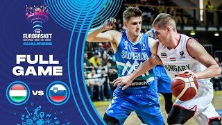 Hungary v Slovenia - Full Game - FIBA EuroBasket Qualifiers 2022
