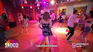 Ilya Kronberg and Adelina Dodonova Salsa Dancing at Respublika Days 9, Thursday 02.05.2019 (SC)
