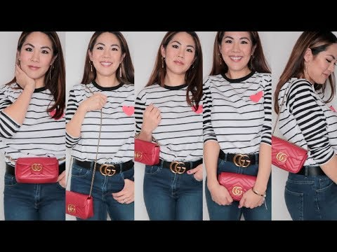 How To Wear the GUCCI Super Mini 6 Ways!