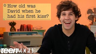 david dobrik guesses how 1016 fans responded to a survey about him teen vogue