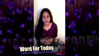 God is planning to do good | Sis. Divya David