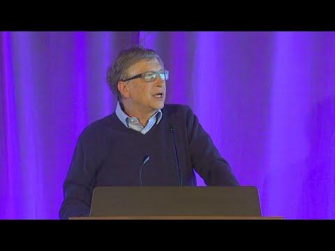 Bill Gates talks about Paul Allen during speech at new UW computer science building