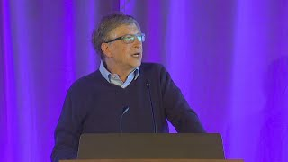 Download Video Bill Gates talks about Paul Allen during speech at new UW computer science building MP3 3GP MP4