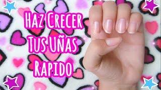 UÑAS LARGAS SUPER RAPIDO ♥ Haz Crecer Tus Uñas ♥ Lulu99