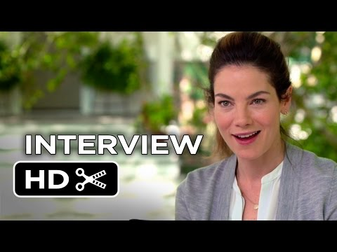 The Best Of Me Interview - Michelle Monaghan (2014) - James Marsden Romance Movie HD