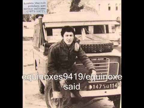 matoub lounes narre l histoire de la vengeance d un fils puis chanson algerie kabylie