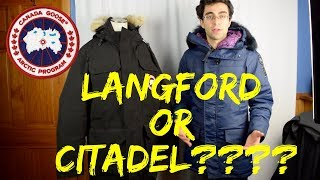 Langford vs Citadel--Review Comparison--Canada Goose