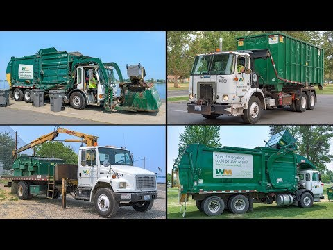 Garbage Trucks: Event Clean-Up Extravaganza!