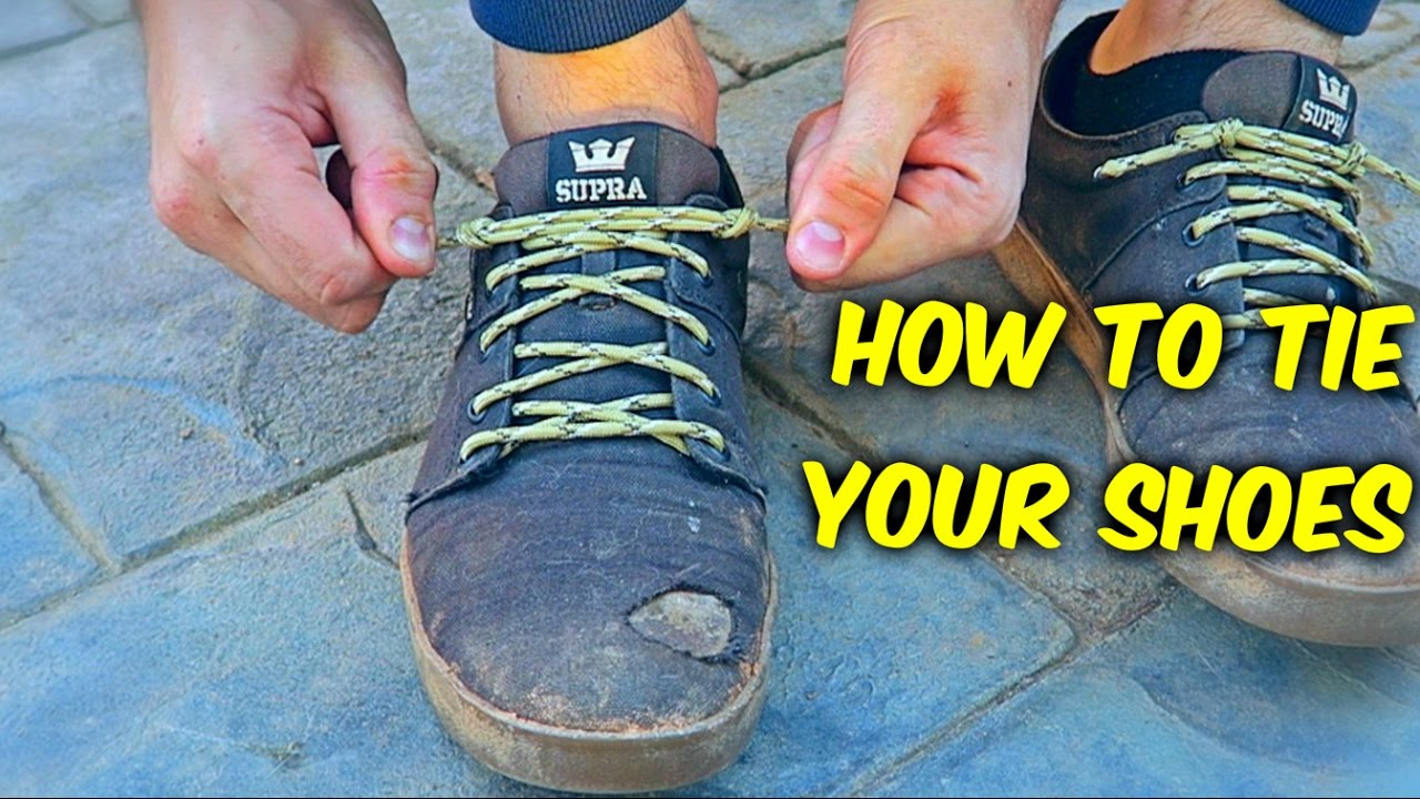 Youve Been Tying your Shoes Wrong YouTube