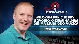 Teša Tešanović - Milovan Brkić je prvi govorio o kriminalnim delima ljudi oko Vučića!