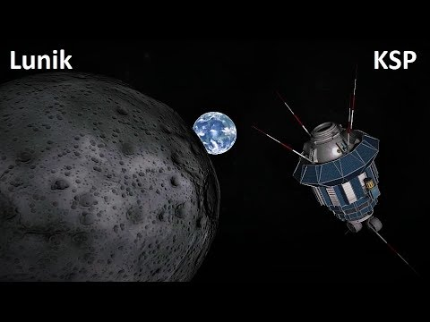 Space Race KSP - Luna 1, Luna 2 & Luna 3 - Pure Stock Replicas