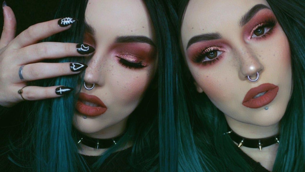 Redmodern Renaissance Palettefull Face Talk Thru Makeup Tutorial - Grunge-makeup-ideas